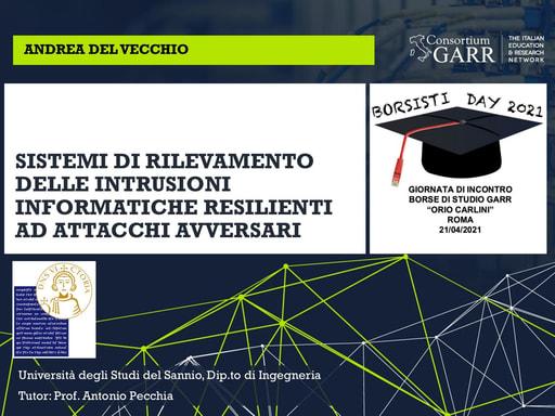 Borsisti Day 2021 - Del Vecchio