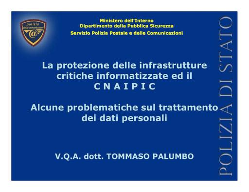 Ws07 - Presentazione - Palumbo
