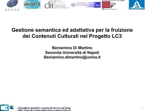 Conferenza GARR 2009 - Presentazione - Di Martino