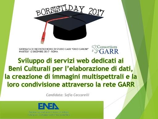 Borsisti Day 2017 - Sofia Ceccarelli