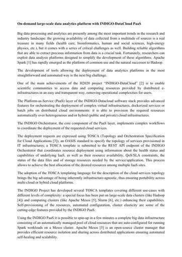 Conferenza GARR 2017 - Paper - Antonacci