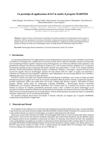 Conferenza GARR 2016 - Paper - Meriggi