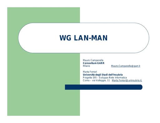 WS05 - presentazione - Campanella - Ferrari