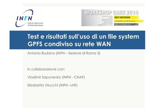 Ws14 - Presentazione - A. Budano
