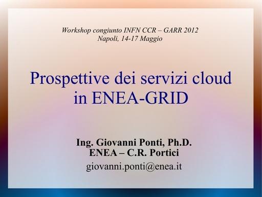 WS12 - presentazione - G. Ponti