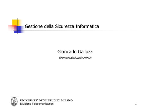Ws06 - Presentazione - Galluzzi