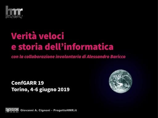 Conferenza GARR 2019 - Presentazione - Cignoni