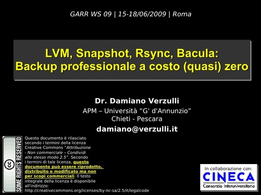 Ws09 - presentazione - Verzulli - 2