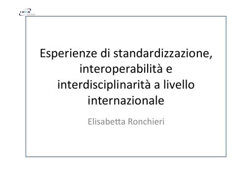 WS12 - presentazione - E. Ronchieri