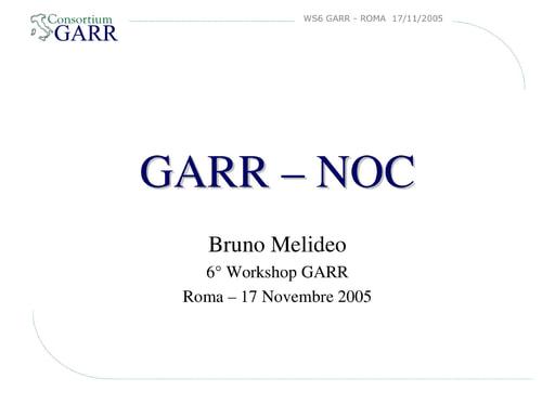 Ws06 - Presentazione - NOC