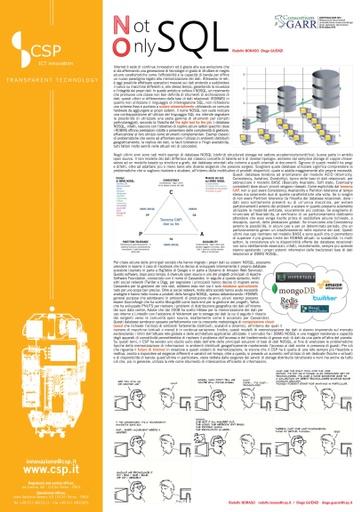 Conferenza GARR 2010 - Poster - Boraso