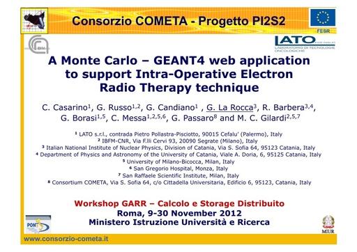 WsCSD12 - Presentazione - G. La Rocca