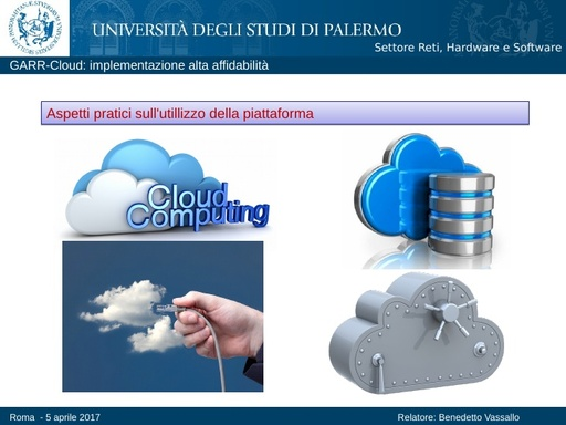 Ws17 - Presentazione - GdL Cloud - Vassallo