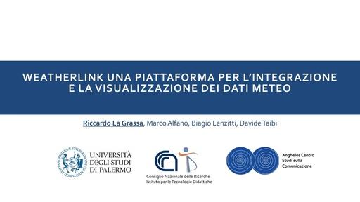 Conferenza GARR 2017 - Presentazione - La Grassa