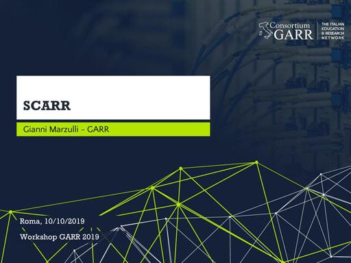 Workshop GARR 2019 - Presentazione - 02 - Marzulli