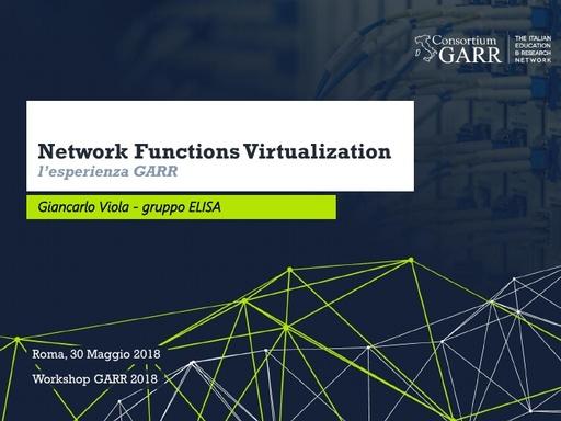WS18 - G. Viola - Funzioni di rete
