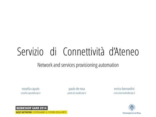 Ws14 - Presentazione - P. De Rosa