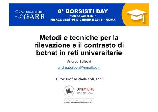 8 Borsisti Day - Andrea Balboni