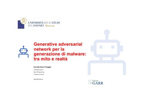 Workshop GARR 2019 - Presentazione - Visaggio