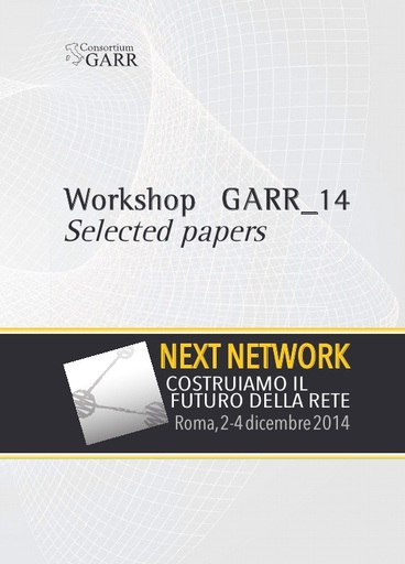 Selected Papers Workshop GARR 2014 - Volume