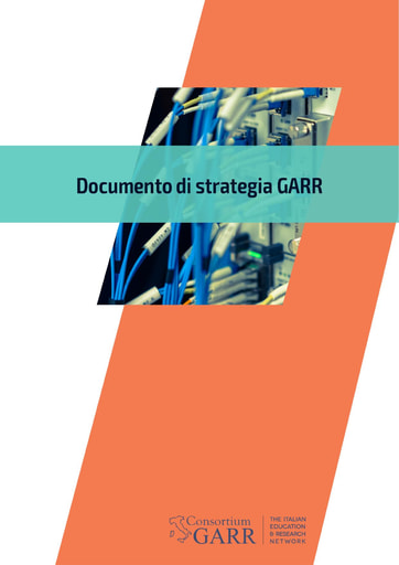 Documento di strategia GARR - 2019