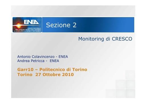 Conferenza GARR 2010 - Presentazione - Petricca - Colavincenzo