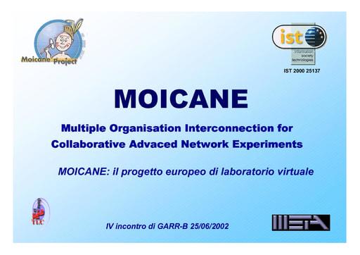 WS04 - Giordano - MOICANE: il progetto europeo di laboratorio virtuale