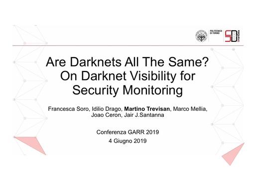 Conferenza GARR 2019 - Presentazione - Trevisan