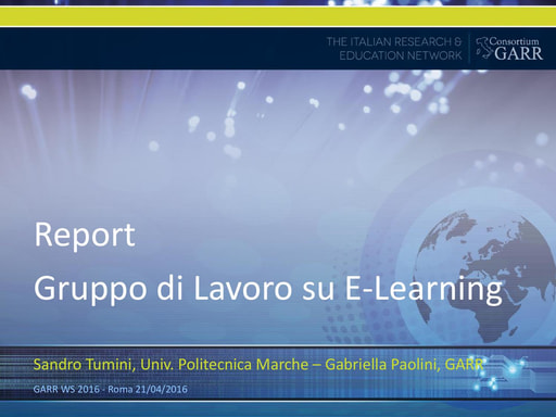 WS16 - GDL - E-Learning