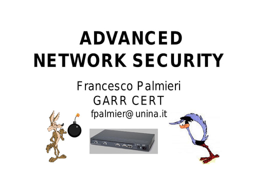 WS03 - Palmieri - Advanced Network Security
