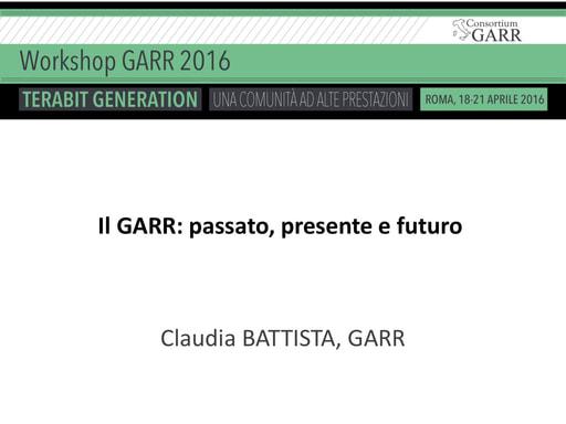 Ws16 - Presentazione - C. Battista