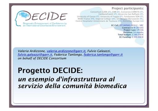 WsCSD12 - Presentazione - V. Ardizzone
