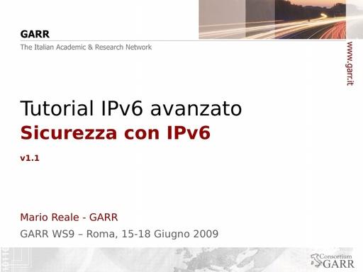 Ws09 - Presentazione - Reale - Tutorial 1 - ppt